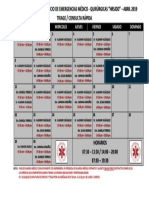Guardia Medica Abril 2019 Consulta Rapida -Triaje - Oficial Modificado