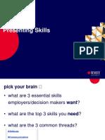 Presentation Skills IME