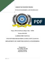 UNPS Manual