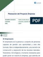 Sesión 3 Planeación Del Proyecto Empresa
