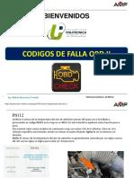 CODIGOS DE FALLA OBD II  91V  UPCH AMF.ppt