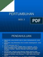 SESI-3 PERTUMBUHAN