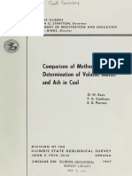 Comparison of Methods for Determination of Volatile Matter and Ash in Coal