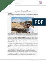 """""""Il Diario del nostro ritorno a Cirene"""" - Il Giornale dell'Arte.it, 20 maggio 2019"""