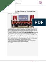 Il coro Uniud vincitore di Unincanto - Udine20.it, 20 maggio 2019