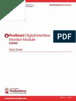 ProReact Digital LHD DiMM DataSheet