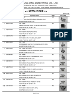 Mitsubishi Oil Pump Diamond PDF