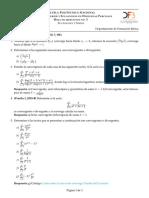Hoja Ejercicios Fourier 2019A 3 Sucesiones y Series