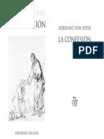 Speyr. Adrienne von - La confesión.pdf