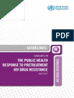 Pretreatment HIV Drug Resistent.pdf