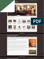 Online Furniture Shop Screens