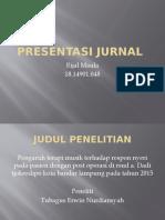 Presentasi Jurnal Anak Rijal