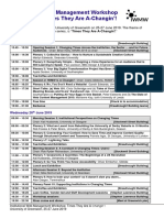 IWMW 2019 Timetable
