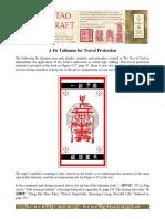 Fu talisman travel protection