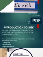 Credit Risk Ppt