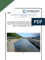 Quy hoạch nuôi trồng thủy sản nước lợ, mặn vùng ven biển tỉnh Phú Yên đến năm 2025, tầm nhìn đến năm 2030