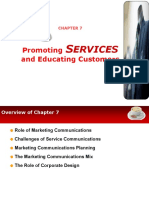 Chapter 7 Promoting Services and Educating Customers1