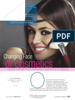 Changing Face of Cosmetics