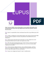 Lupus Awareness Month-31 Days of Facts