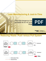 Lean Manufacturing Just-In-Time