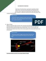 Materi Hukum Kepler