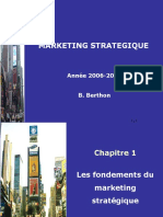 Fondements Du Marketing Stratégique
