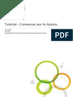 Tutorial - Beginning With the Basics (Es-ES)