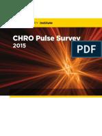 CHRO Pulse Survey