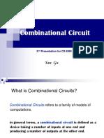 Combinational Circuits(Yan Gu)