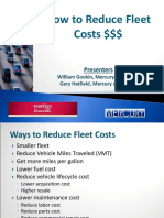 How to Reduce Fleet Costs Final