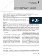 [Human Movement] Blood Pressure Responses After a Session of Functional Training in Young Adults and the Elderly a Pilot Study