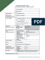 Formulir PDMAI 2019
