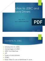 03. Introduction to JDBC and Java Drivers