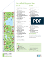 Central Park Playground Map