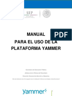 Manual Yammer Completo