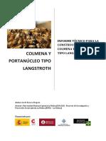 Informe Técnico Colmena Langstroth