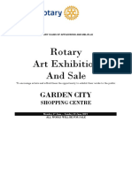 2019 Rotary Art Sale and Show - Artists' information