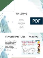 Kep Anak Toilet Training