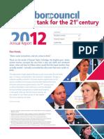 Lisbon Council 2012 Annual Report