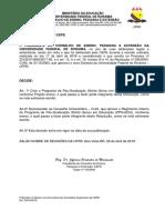 Resoluo n 009-19- Cria o PPG-Educao e recomenda a aprovao do Regimento Interno do PPG-Educao.pdf