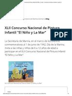 """XLII Concurso Nacional de Pintura Infantil _El Niño y La Mar"""" _ Secretaría de Marina _ Gobierno _ Gob.mx"""