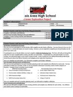 maxwell sensor - my copy of career journal requirements