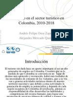 Empleo en El Sector Turistico en Colombia