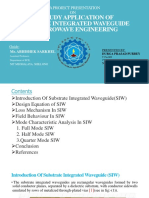 SIW Application in Microwave