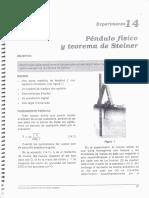 3-Pendulo Fisico y Teorema de Steiner