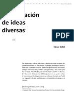 9. DOSSIÊ Cesar Aira - Continuacion de ideas diversas PRINCIPAL.pdf