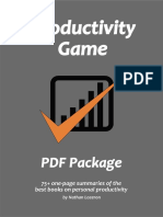SAMPLE Productivity Game PDF Package