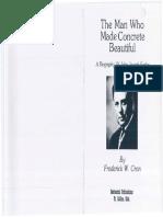 The Man Who Made Concrete Beautiful - A Biography of John Joseph Early,  Cron, Frederick (1977