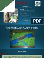 BARRAJE-FIJO