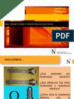 f3 s05 Ppt Resistividad y Resistencia Electrica